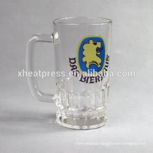 22OZ sublimation glass oktoberfest beer mug