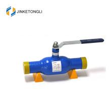 canalisation d'approvisionnement en chaleur / gaz, utilisation dn50, vanne à boisseau sphérique en acier inoxydable de 2 pouces