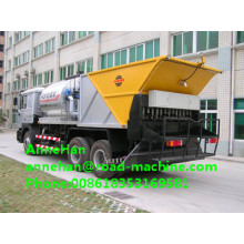 Sinotruk jalan aspal chip seal sealer sprayer Truck