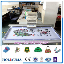 Big embroider area Smart computerized embroidery machine mix embroidery for flat cap garment embroidery