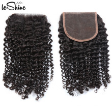 Alibaba Top Vendor Wholesale100% Durable Brazilian Cuticle Aligned Remy Hair Extension Pretty Curly Lace Frontal Closure