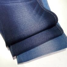 Tecido denim super stretch de algodão acetinado para jeans