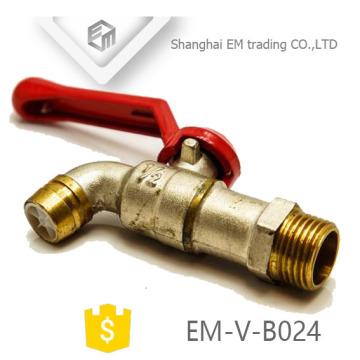 EM-V-B024 Top High Quality Brass Faucet Tap Brass Bibcock
