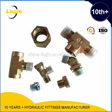 Ningbo EQUAL TEES hydraulic adapter and bushing reduce plug
