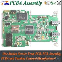 PCB SMT Assembly für Control Board OEM Service Akzeptierte Leiterplatten Baugruppen geführt
