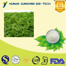 Bulk Pure Süßstoff / RA95%, 98% Stevioside Rebaudioside A Stevia Leaf Extract