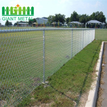 Wholesale price galvanized steel chain link fence