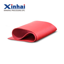 Red Heat Resistant Natural Rubber Sheet / Rubber Roll Group Introduction