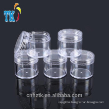 5g10g15g20g plastic cosmetic jars /PS small sample cream jar