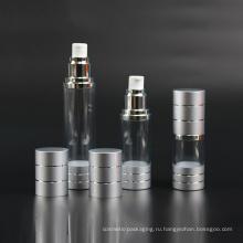Пластичный насос бутылки, Безвоздушная бутылка (NAB18)