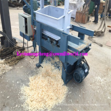 2 Axle 8 Blades Animal Bedding Used Electric Fresh Wood Log Shaving Machine Price (500KG/Hour)