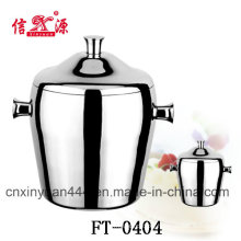 Stainless Steel Double Wall Ice Bucket (FT-0404)
