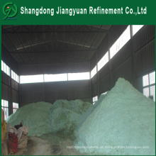 Preparação de sulfato de amónio ferroso