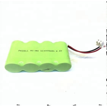 4.8v 3000mah Ni-mh Battery Pack SC Rechargeable Battery Pack High-grade Quality