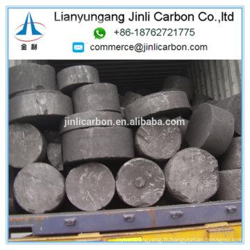 L'électrode de graphite de prix bas élimine de grands morceaux / petits grains / poudre / fines