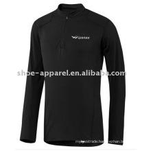 long sleeve black men's sports t-shirts