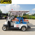 Heißer Verkauf 2 Sitzer Elektrischer Krankenwagen Warenkorb