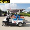 Carrinho de ambulância elétrico da venda quente 2 Seater