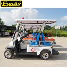 Carro de golfe elétrico barato usado da ambulância