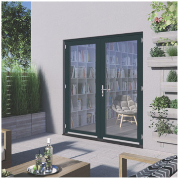 Lingyin Construction Materials Ltd china sale Aluminium casement swing doors