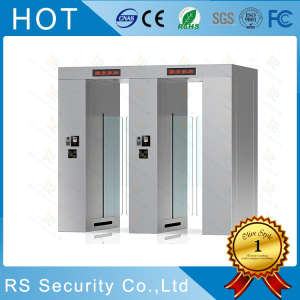 Automatic Subway Gates Slim Swing Arm Turnstile