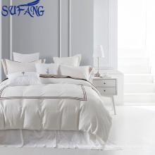 Nantong Großhandel LinenPro 100% maßgeschneiderte 400 t Stickerei 9 Stücke Hotel Bettwäsche Set, ägyptische Baumwolle Bettwäsche 5 Sterne Hotel 600