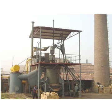 Single Section Coal Gasifier