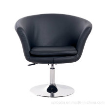 Height Adjustable Leather Leisure Chair with Round Glossy Base (SP-HC363)