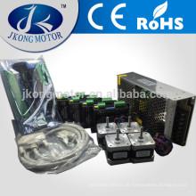 4Axis Cnc Nema17 Schrittmotor 4000g.cm & 1.7A, 12-36VDC, 128 Mill. Treiber
