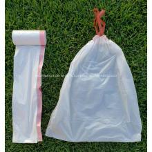 Grand sac poubelle de cuisine ultra résistant avec cordon de serrage