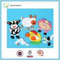 DIY lovely animal EVA foam educational toys for kids