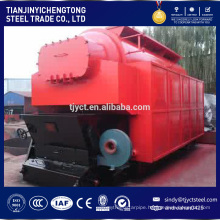 Automatic biomass fired steam boiler with rice husk fuel