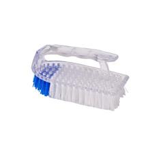 A mão Handheld plástica personalizada do silicone da cozinha da cor esfrega a escova