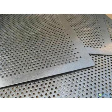 Chapa perforada de acero inoxidable de acero liso y galvanizado