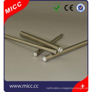 Минеральный изолированный обшитый металл/малого диаметра ми оболочка кабеля aisi316 чувствительно