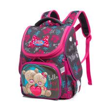2021 Hard Sell Kids Children Cartoon Bear Waterproof Girls School Backpack