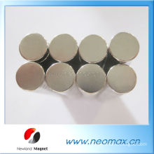 High power neodymium disc magnet for sale