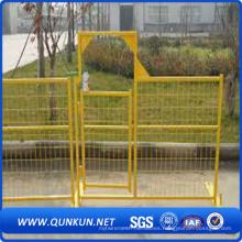 Panel de la cerca del jardín del PVC en venta