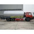 Dongfeng 26000 litros GLP gas transporte petroleros