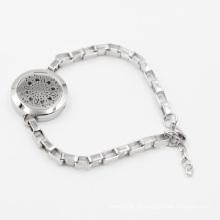 Heißer Verkauf 2016L Edelstahl Mode Ätherische Öle Medaillon für Armband Schmuck