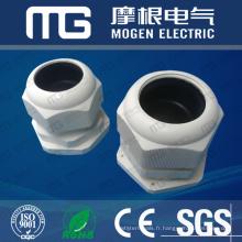 Les ventes directes d'usine ont fixé la glande de câble scellée de résistance à la corrosion de nylon de type M