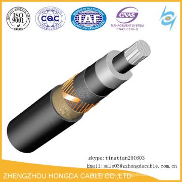 Cable de alimentación no blindado hermético de cobre de 36 kv Cable de alimentación Uv Cvt hermético de cobre