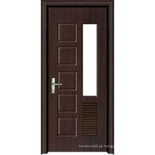 Hot Sale Porta de madeira de PVC de alta qualidade com design de moda