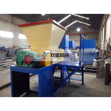 Mesin Shredder Shaft Industri Tunggal