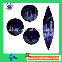 Balão inflável personalizado do hélio com esfera inflável do globo da terra do preço baixo venda