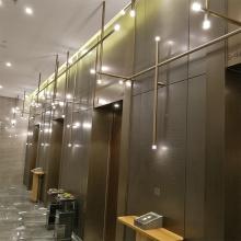 Современное декоративное стекло Энергосберегающий подвесной светильник