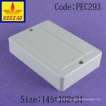 Caja de distribución caja de conexiones de montaje en superficie caja de conexiones eléctricas carril din caja de plástico caja de plástico personalizada sellada E