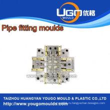 Высококачественная пластмассовая фабрика плесени высокого качества для пластиковых фитингов PPR для стандартного размера в taizhou China