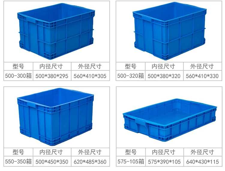 Plastic sample for crate