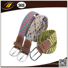 The Most Popular Fabric Belt Elastic Braided Stretch Belt